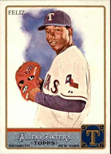 Photo of 2011 Topps Allen and Ginter #69 Neftali Feliz