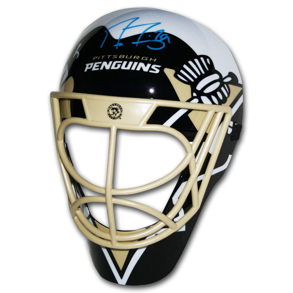 Marc-Andre Fleury Autographed Pittsburgh Penguins Fan Mask