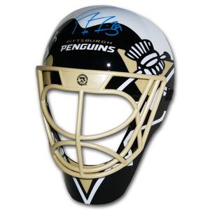 Marc-Andre Fleury Autographed Pittsburgh Penguins Fan Mask