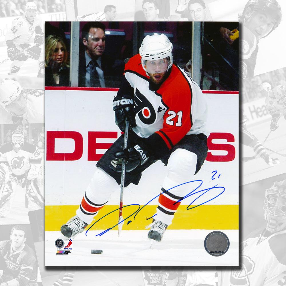 Peter Forsberg Philadelphia Flyers BREAKOUT Autographed 8x10