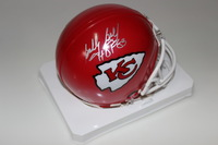HOF - CHIEFS BOBBY BELL SIGNED CHIEFS MINI HELMET