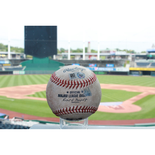 Photo of Game-Used Anthony Rendon Single (5/4/16 WAS at KC)