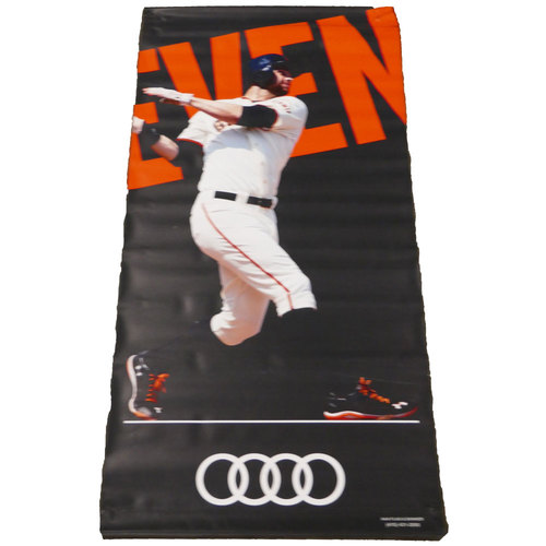 Photo of San Francisco Giants - 2016 Vinyl Street Banner - Brandon Belt