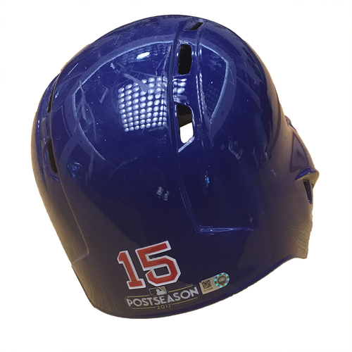 Photo of Mike Freeman 2017 Postseason Batting Helmet