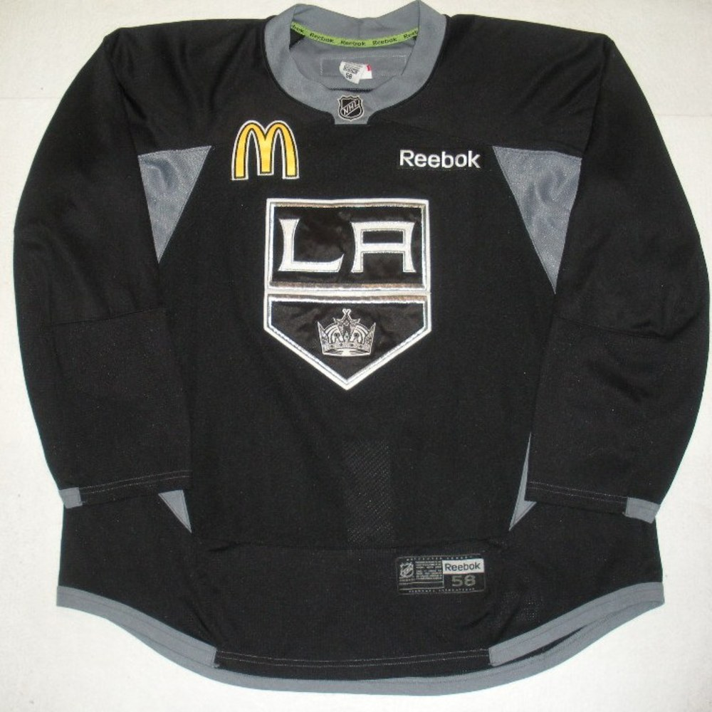 Jeff Schultz - 2014 Stanley Cup Final - Los Angeles Kings - Practice-Worn Jersey