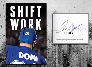 Tie Domi SHIFT WORK Signed Hardcover Book