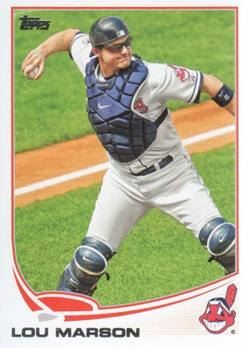 Photo of 2013 Topps #443 Lou Marson