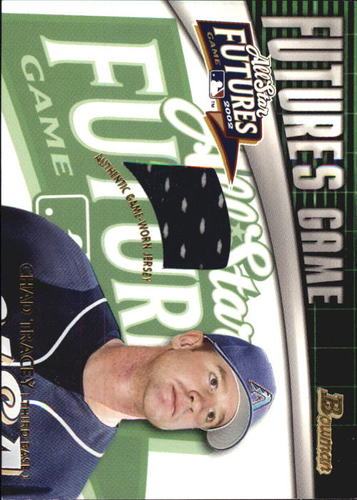 Photo of 2003 Bowman Futures Game Gear Jersey Relics #CT Chad Tracy