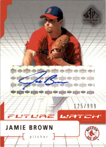 Photo of 2004 SP Authentic Future Watch Autograph #108 Jamie Brown FW