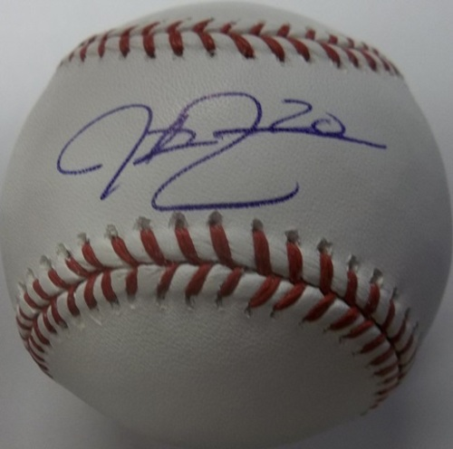 Photo of Justin Ruggiano Autographed Baseball