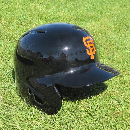 Photo of San Francisco Giants - Game Used Helmet- Spring Training - Denard Span