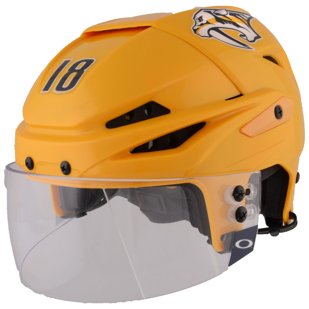 James Neal Nashville Predators - 2017 Stanley Cup Final Game-Worn Gold Helmet