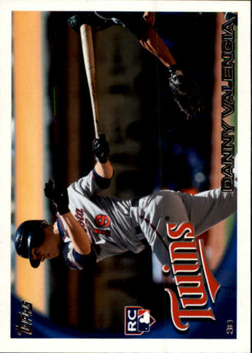 Photo of 2010 Topps Update #US191 Danny Valencia RC