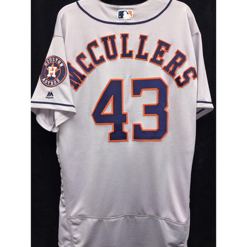 Photo of Team-Issued 2016 Lance McCullers Road Jersey