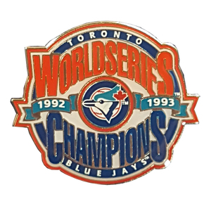 Toronto Blue Jays Back to Back World Series Champions Lapel Pin by Aminco