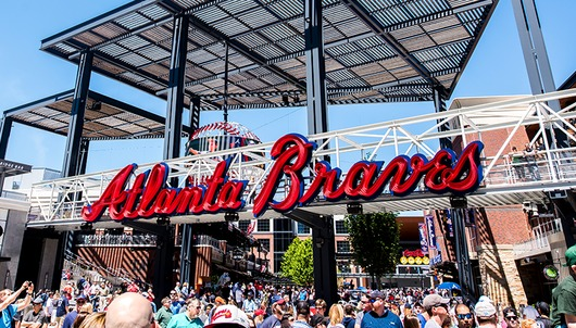 ATLANTA BRAVES BASEBALL GAME: 7/4 VS. PHILADELPHIA (2 SUITE TICKETS INSIDE SUNTRUS...