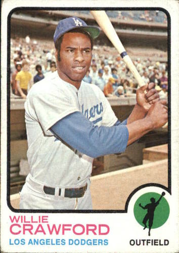 Photo of 1973 Topps #639 Willie Crawford