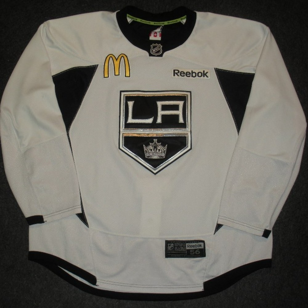 Jarret Stoll - 2014 Stanley Cup Final - Los Angeles Kings - Practice-Worn Jersey