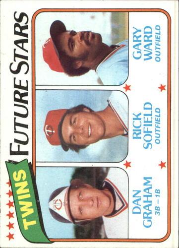 Photo of 1980 Topps #669 Dan Graham RC/Rick Sofield/Gary Ward RC
