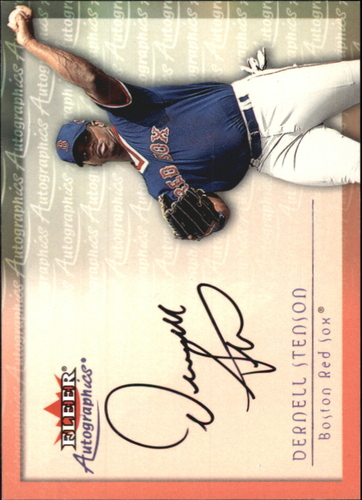 Photo of 2001 Fleer Autographics #94 Dernell Stenson