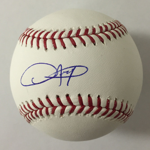 Photo of Dexter Fowler Autographed Baseball