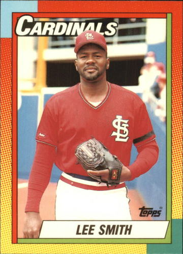 Photo of 1990 Topps Traded Tiffany #118T Lee Smith
