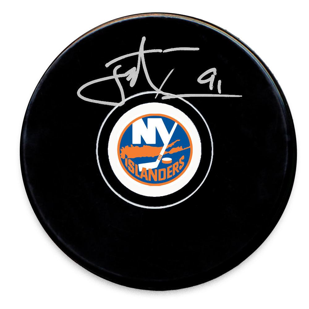 John Tavares New York Islanders Autographed Puck