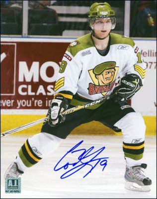 CODY HODGSON Brampton Battalion SIGNED 8x10 Photo