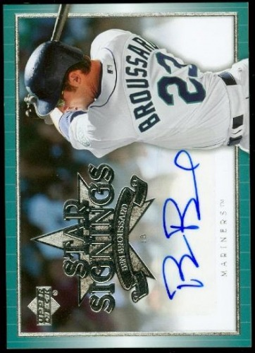 Photo of 2007 Upper Deck Star Signings #BO Ben Broussard S2