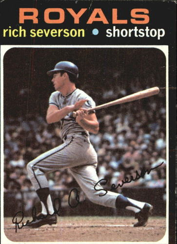 Photo of 1971 Topps #103 Rich Severson RC