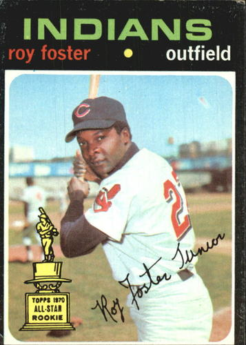 Photo of 1971 Topps #107 Roy Foster RC