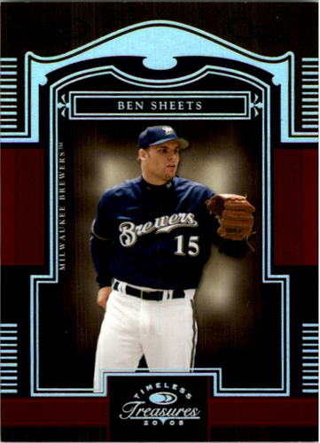Photo of 2005 Timeless Treasures Silver #98 Ben Sheets