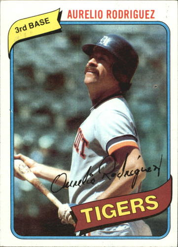 Photo of 1980 Topps #468 Aurelio Rodriguez