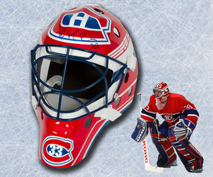 Patrick Roy Montreal Canadiens Autographed Full Size Replica Goalie Mask