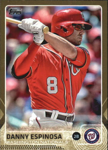 Photo of 2015 Topps Gold #331 Danny Espinosa