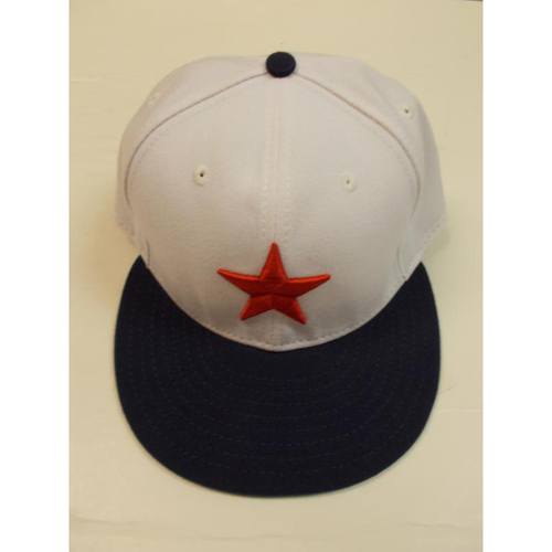 Photo of Game-Used Negro League Tribute Game Cap: Mike Pelfrey