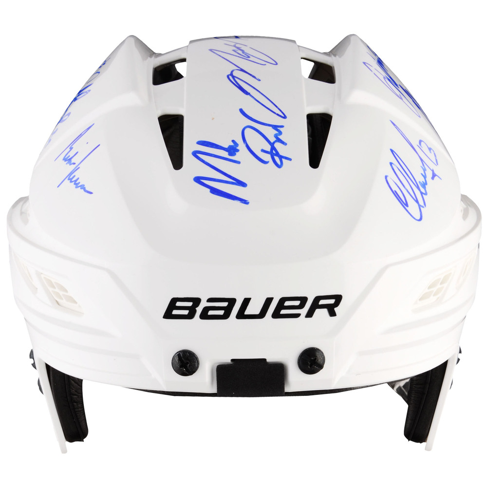 1994 New York Rangers Autographed Helmet with 16 Signatures- Limited Edition of 24-Steiner Sports