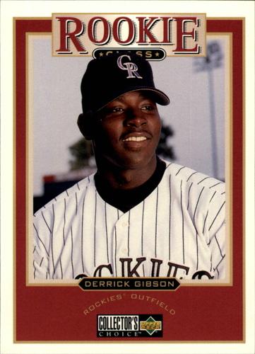 Photo of 1997 Collector's Choice #470 Derrick Gibson