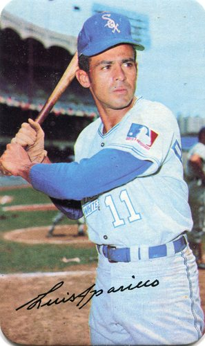 Photo of 1970 Topps Super #3 Luis Aparicio SP