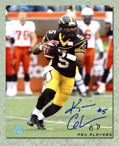 Kevin Glenn Hamilton Tiger-Cats Autographed CFL 8x10 Photo
