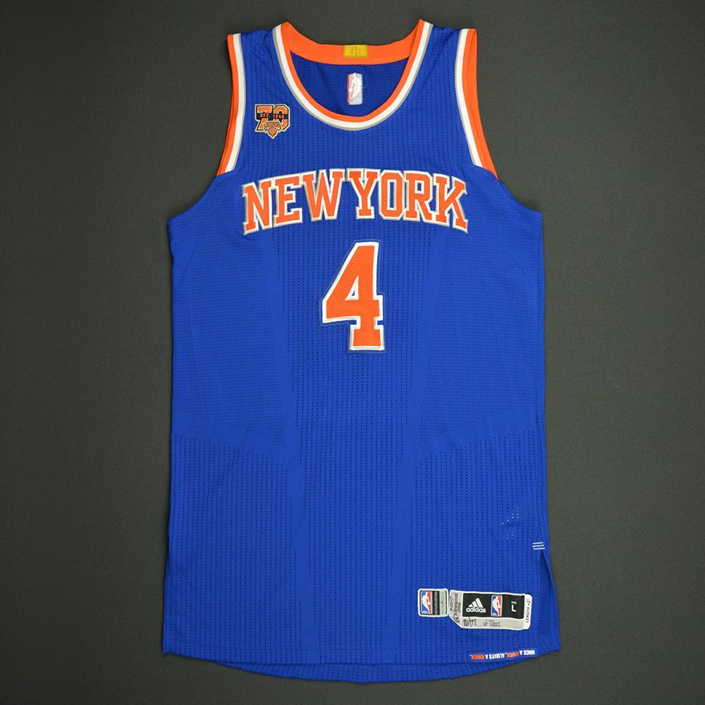 Chasson Randle - New York Knicks - Game-Issued Rookie Season Jersey - 2016-17 Season