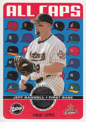 Photo of 2003 Upper Deck Vintage All Caps #JB Jeff Bagwell