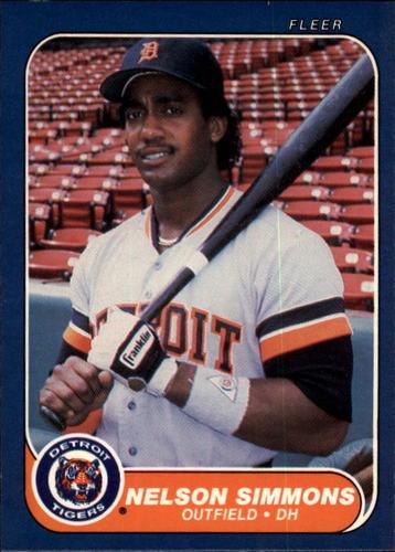 Photo of 1986 Fleer #238 Nelson Simmons