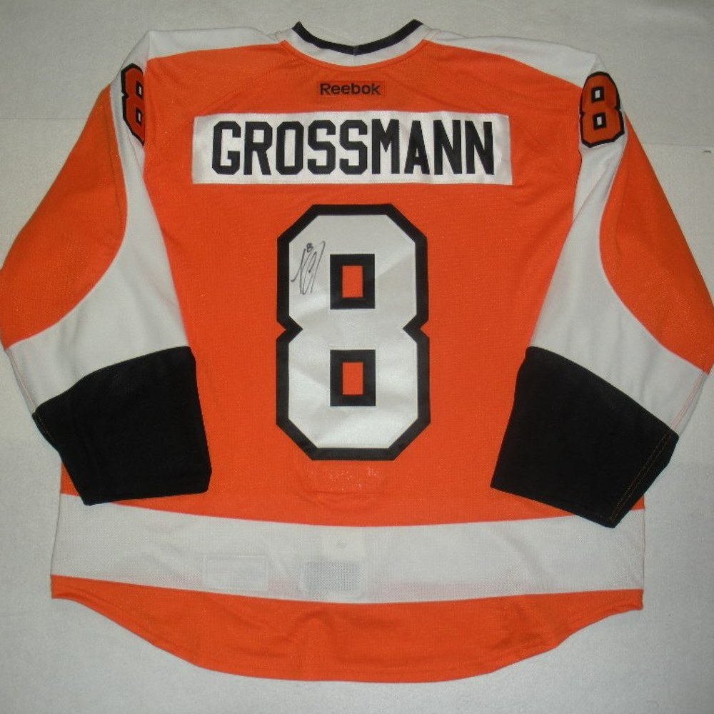 Nicklas Grossmann - 2014 Philadelphia Flyers Wives Carnival - Autographed Event-Worn Jersey