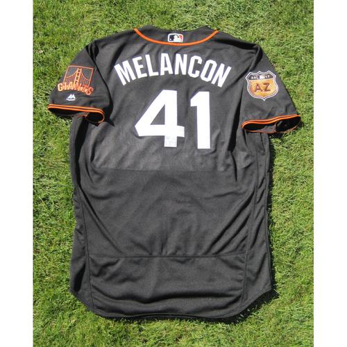 Photo of San Francisco Giants - Game Used Jersey - Spring Training - Mark Melancon #41