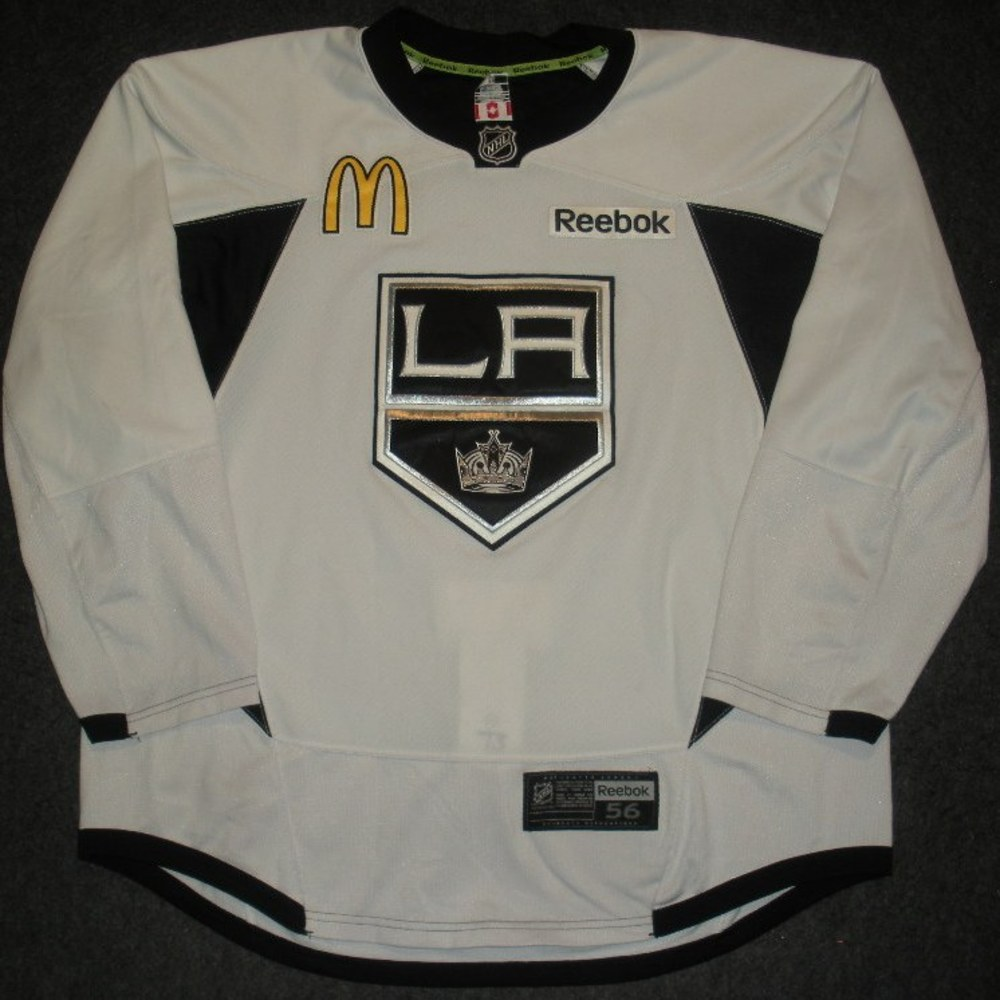 Tyler Toffoli - 2014 Stanley Cup Final - Los Angeles Kings - Practice-Worn Jersey
