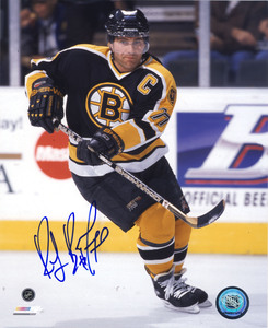Ray Bourque Boston Bruins Autographed Captain 8x10 Photo