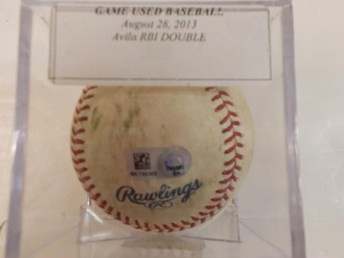 Photo of Game-Used Baseball: Alex Avila RBI Double