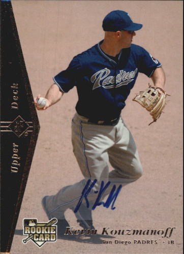 Photo of 2007 SP Rookie Edition Autographs #164 Kevin Kouzmanoff 95