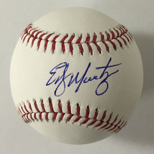 Photo of Edgar Martinez Autographed Baseball